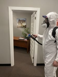 Disinfectant Fogging removes germs, pathogens, pollen and more.
